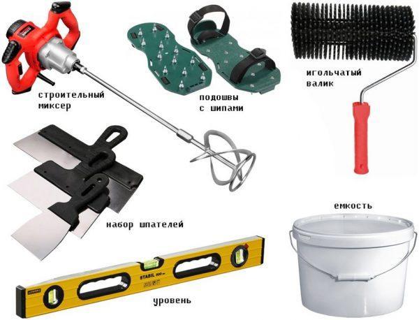 Инструменты для заливки