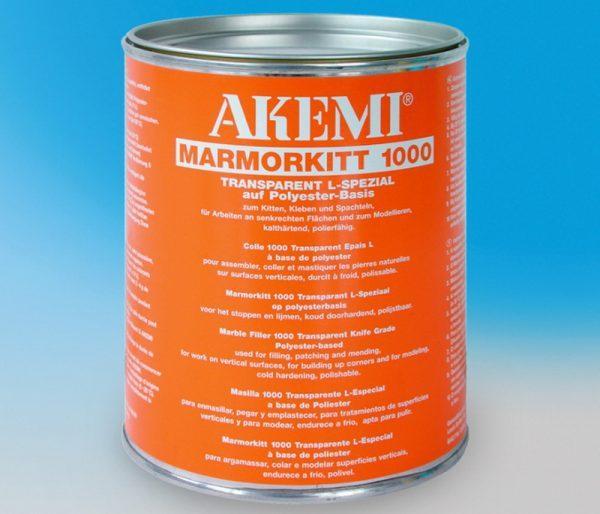 Клей-шпаклёвка для мрамора Akemi