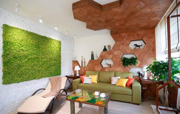 Оформление квартиры в эко-стиле