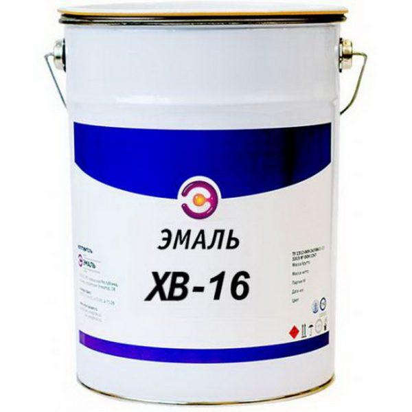 Поливинилхлоридная эмаль ХВ-16