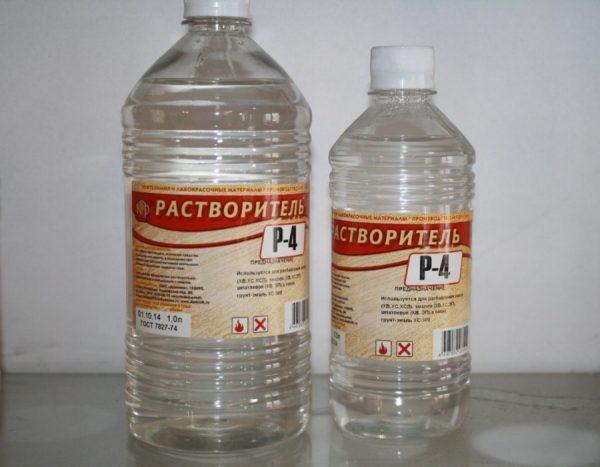 Р-4 в пластиковых бутылках