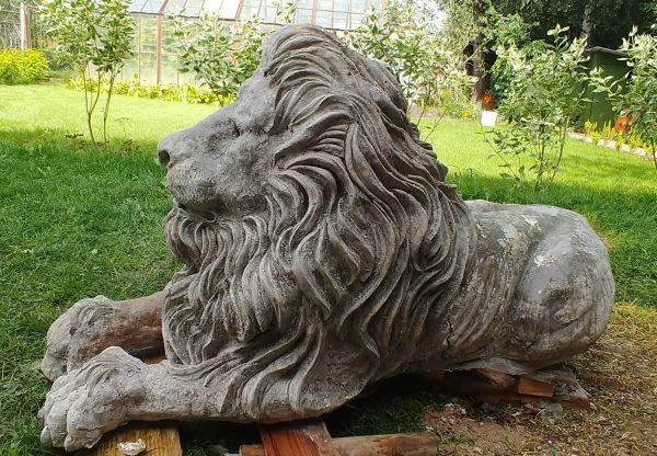 Реставрация садовой скульптуры из бетона