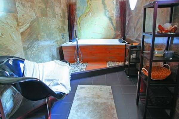 Ванная комната певца