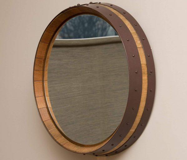 Зеркало из бочки