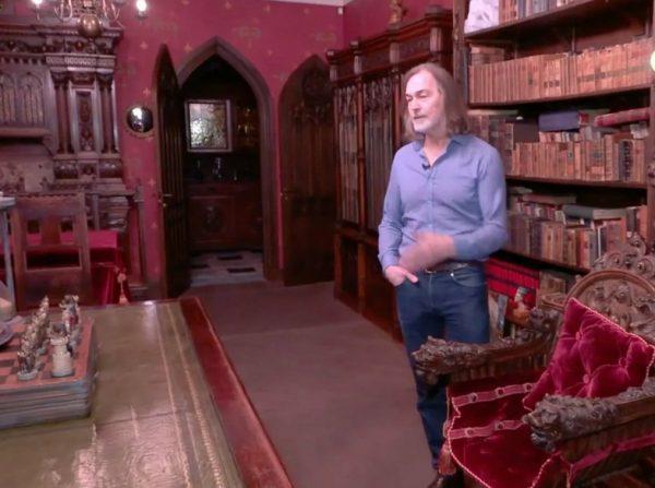 Библиотека Никаса Сафронова