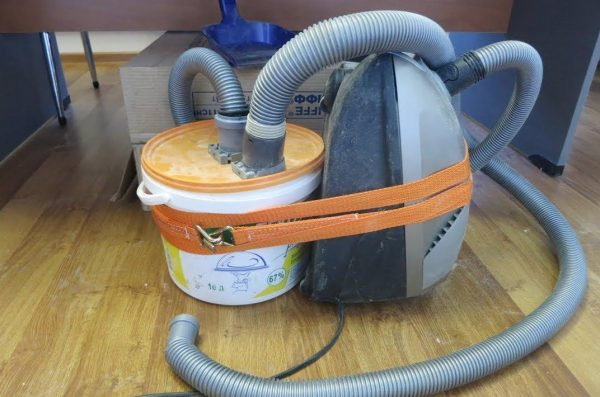 Изготовление моющего пылесоса