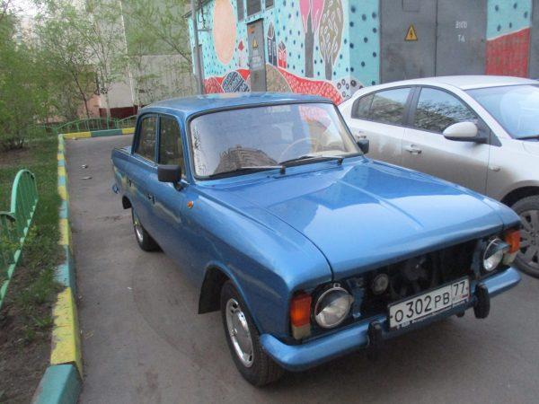 ИЖ Москвич 412 синий металлик