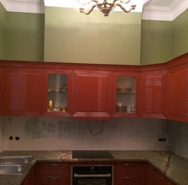 Кухонный гарнитур в квартире Рынски