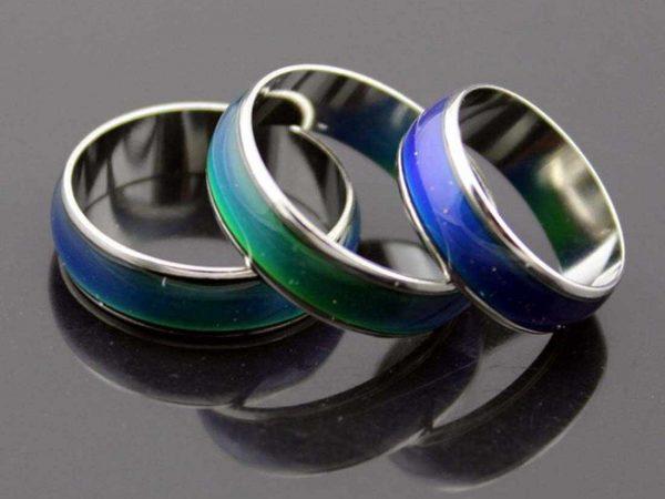 Меняющие цвет кольца