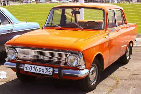 Москвич 412 оранжевый