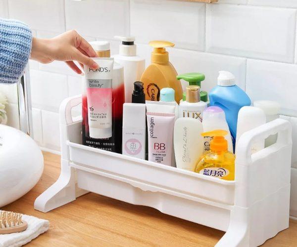 Органайзер для моющих средств в ванной