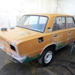 Покраска автомобиля в СССР