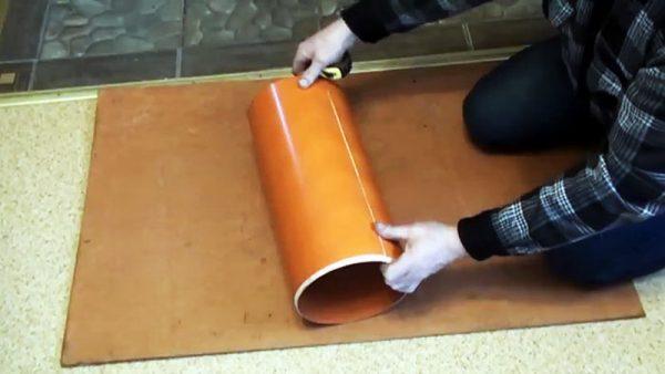 ПВХ-труба 20 см