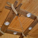 Самодельные деревянные светильники