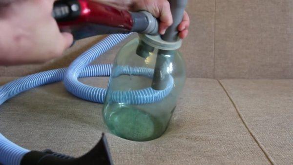 Самодельный моющий пылесос