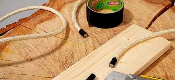 Шнур для подвешивания столика