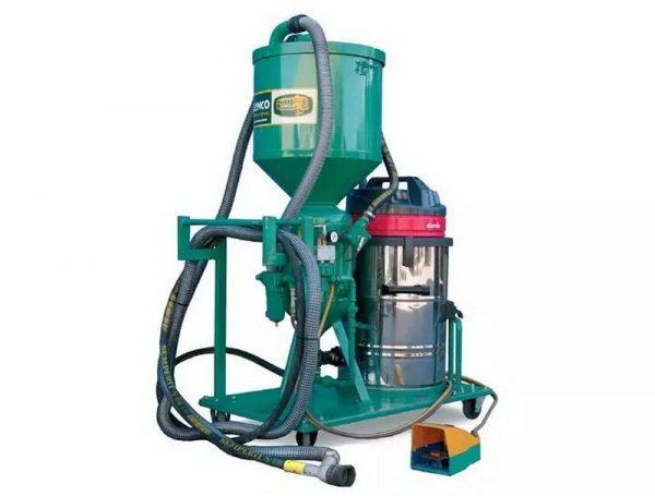 Установка для беспылевой очистки - CLEMCO HSP-20