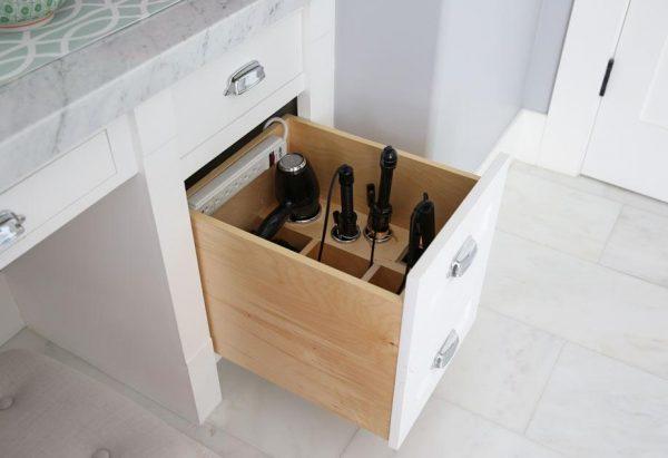 Ящик для хранения фена