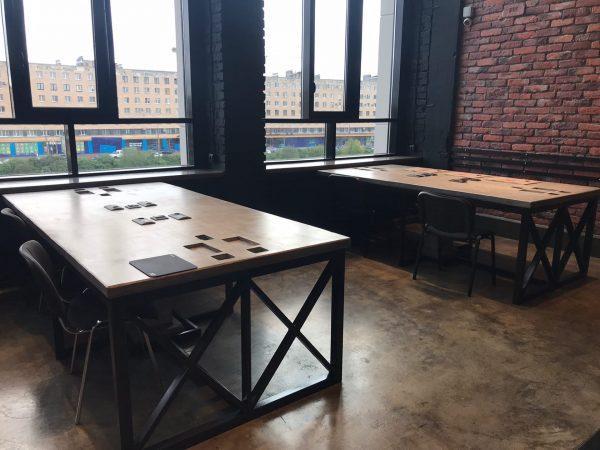 Бетонные столы с подогревом