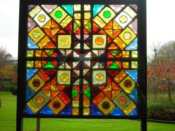 Цветное стекло композиция