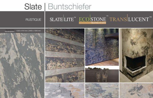"Каменный шпон ""RUSTIQUE"" размер 122х61 см"