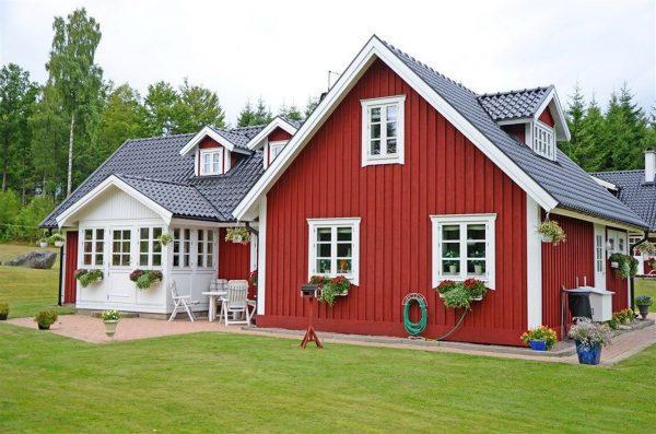 Каркасный дом в Швеции