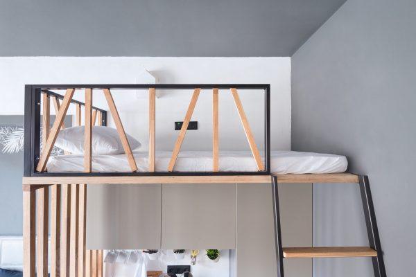 Кровать на антресоли