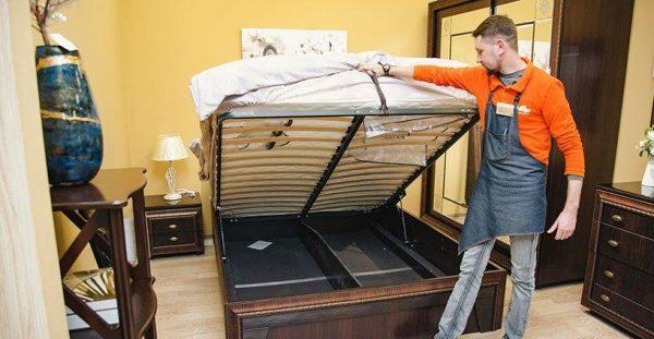 Место для хранения под кроватью