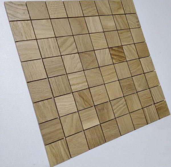 Мозаика для стен Wood Mosaic Дуб на сетке