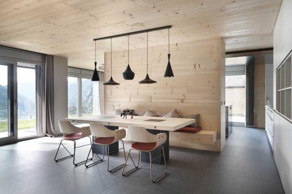 Оформление интерьера помещения в скандинавском стиле