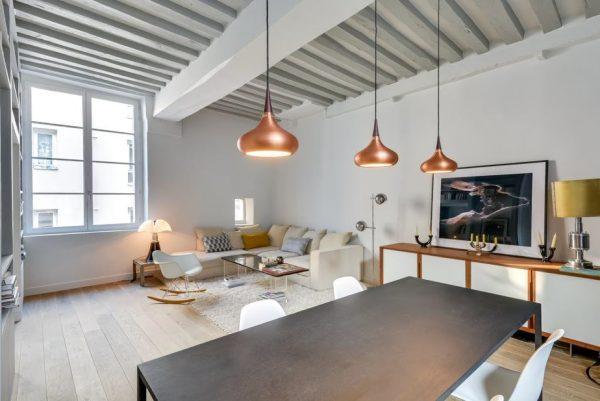 Потолок в скандинавском стиле