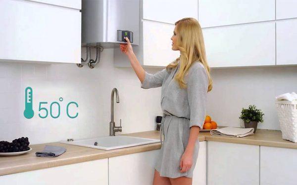 Размещение накопительного водонагревателя на кухне
