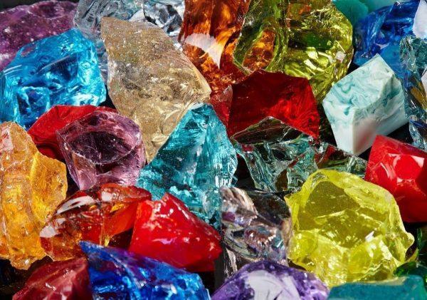 Стеклянные камни - эрклез