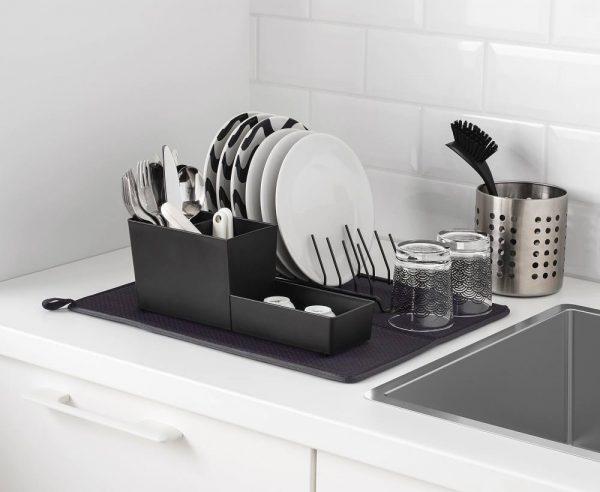 Сушка посуды на столешнице