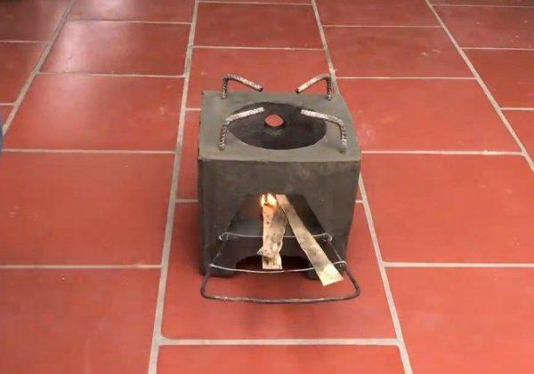 Бетонная печка