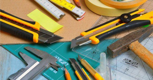 Инструменты для работы с картоном
