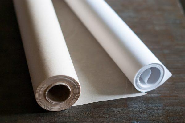 Пергаментная бумага в рулонах