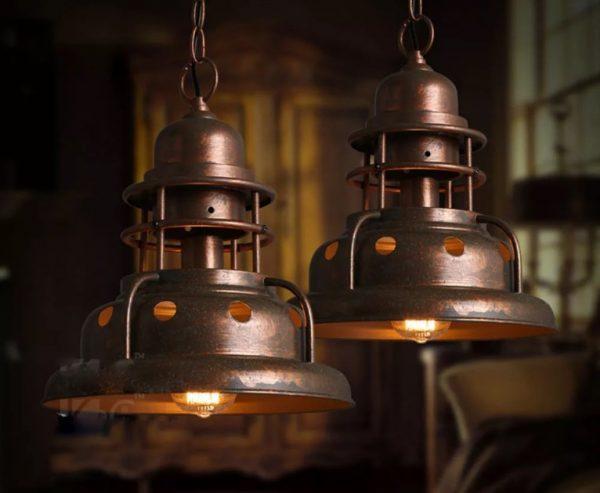 Подвесной светильник для лофта