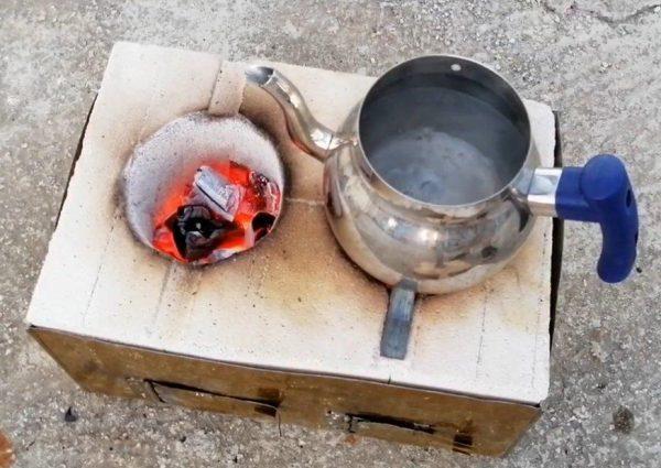 Приготовление пищи на мини-печи