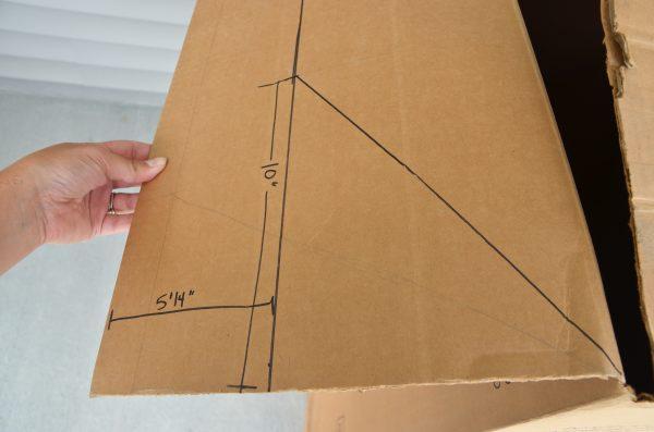 Разметка листов картона