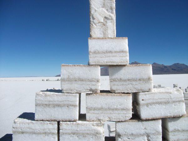 Соляные блоки