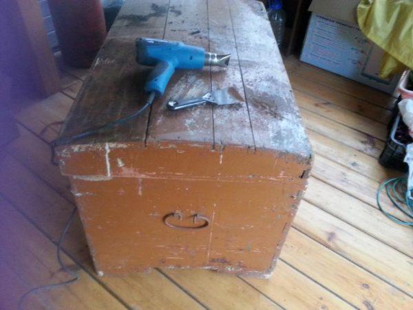 Удаление старого лакокрасочного покрытия
