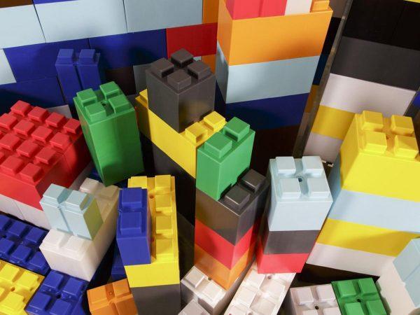 Большие лего блоки для комнаты