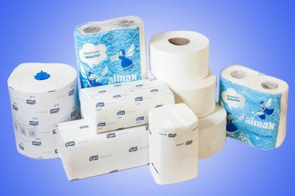 Бумажные полотенца и салфетки