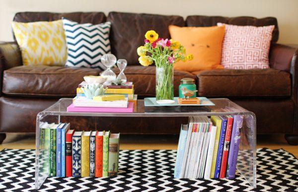 Книги как декор в интерьере