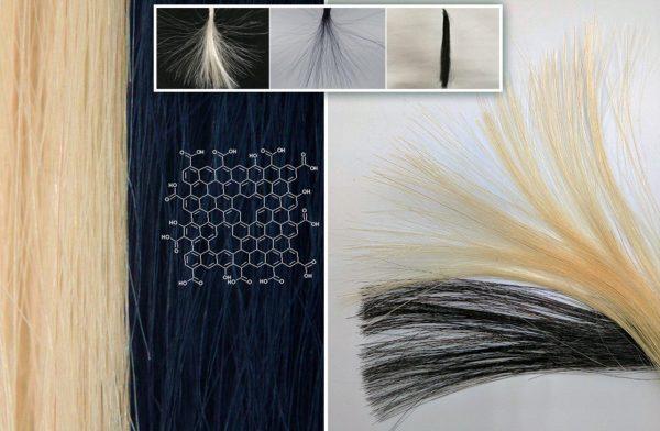 Краска для волос на основе графена