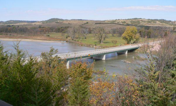 Мост с покрытием из Shot Crete