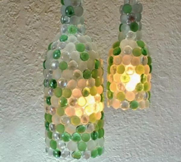 Плафоны украшенные цветным стеклом