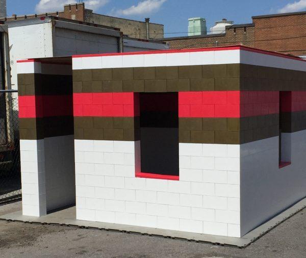 Постройка из лего-блоков