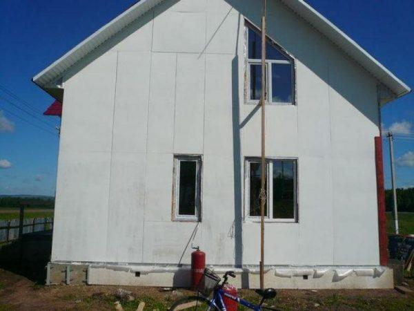 Стекломагниевый лист для фасада
